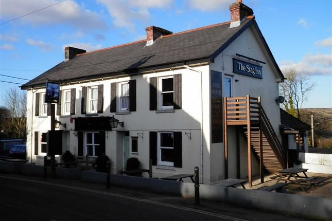 Thumbnail Commercial property for sale in The Stag Inn, Fore Street, Liskeard