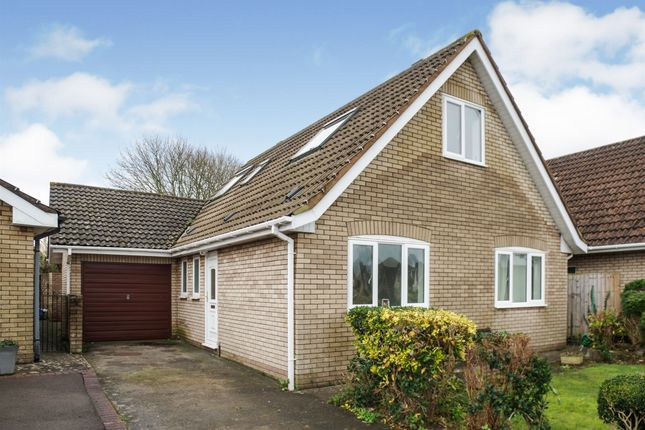 Thumbnail Detached bungalow for sale in Stradling Close, Sully, Penarth