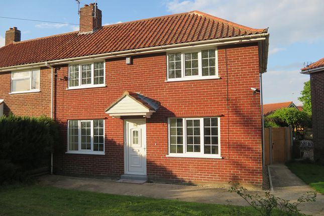 Thumbnail Semi-detached house to rent in The Avenues, Norwich