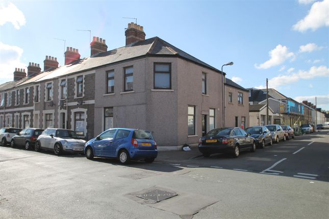 Thumbnail End terrace house for sale in Coburn Street, Cathays, Cardiff