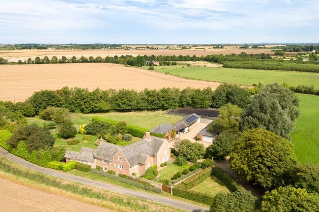 Thumbnail Detached house for sale in White Cross Lane, Tilney All Saints, King's Lynn
