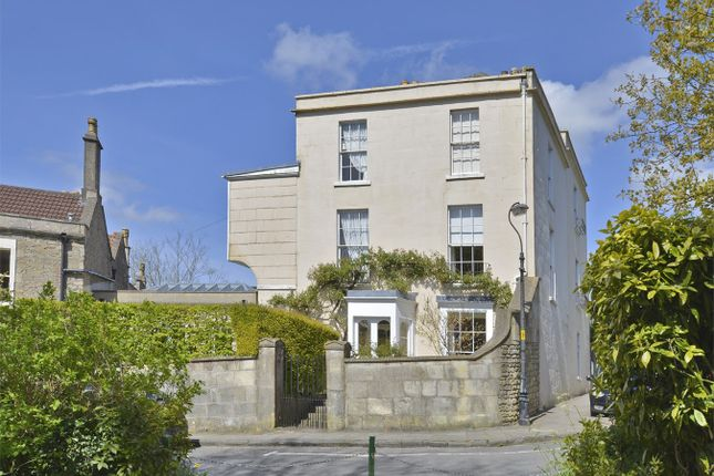 Thumbnail Town house for sale in Lansdown, Bath