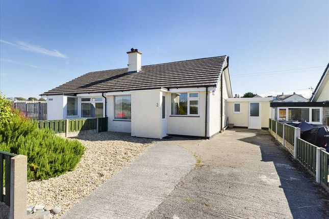 Thumbnail Semi-detached bungalow for sale in Bryn Rhedyn, Newborough, Llanfairpwllgwyngyll