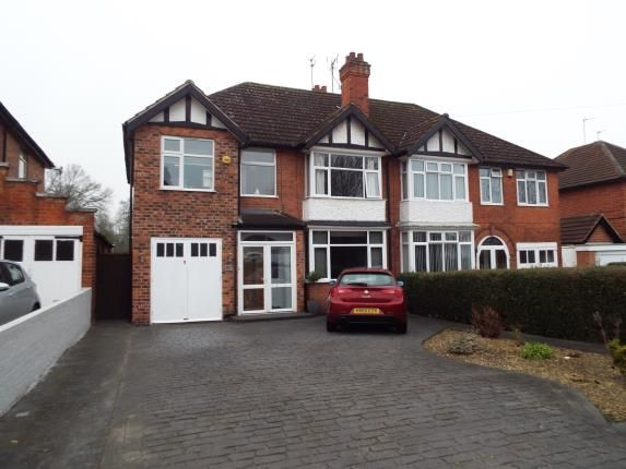 Thumbnail Semi-detached house for sale in Uppingham Road, Leicester
