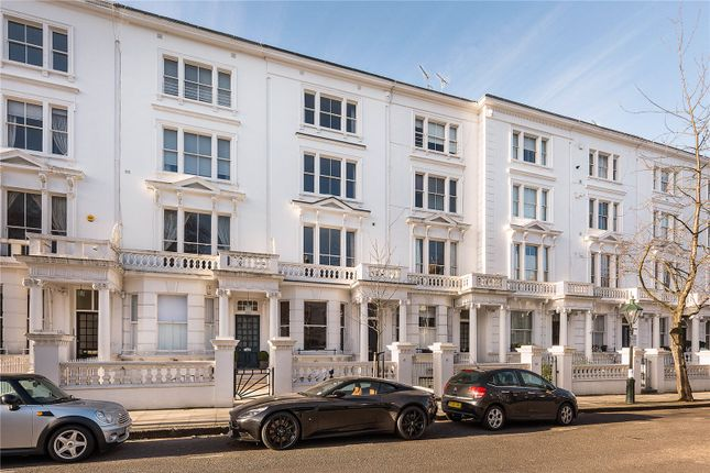 Thumbnail Flat for sale in Palace Gardens Terrace, Kensington, London