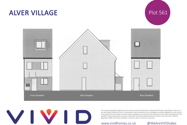 Thumbnail Terraced house for sale in Alver Village, Gosport