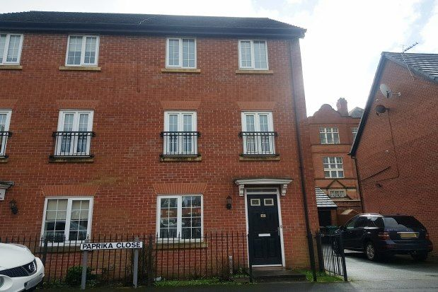 Thumbnail Semi-detached house to rent in Paprika Close, Manchester
