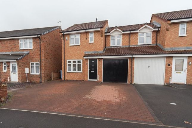 Thumbnail Semi-detached house for sale in Larch Grove, Blyth