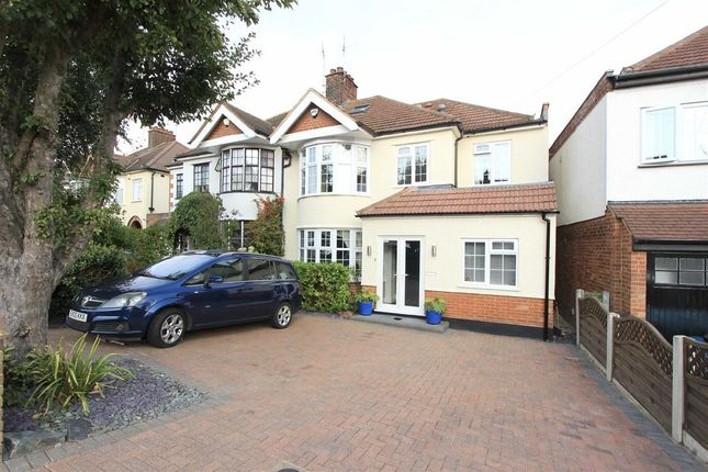 Thumbnail Semi-detached house for sale in Eversleigh Gardens, Upminster, Essex