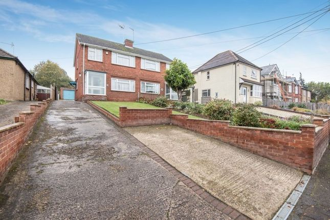 Thumbnail Semi-detached house for sale in Boundary Road, Wooburn Green, High Wycombe