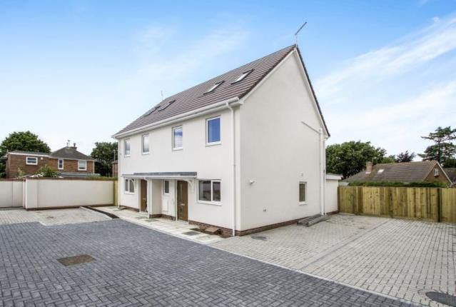 Thumbnail Semi-detached house for sale in Blandford Road, Upton, Poole