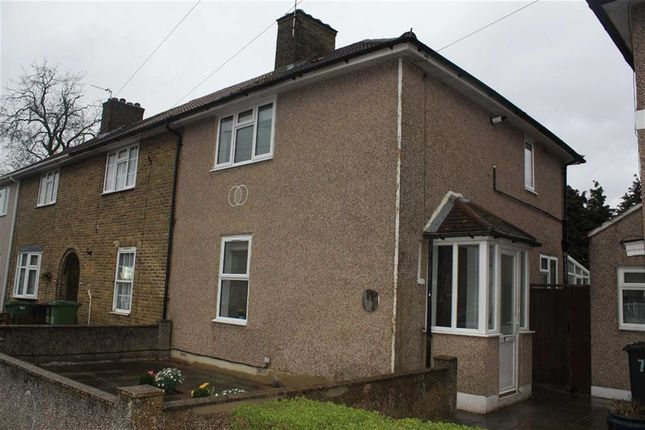 Thumbnail End terrace house to rent in Downderry Road, Bromley