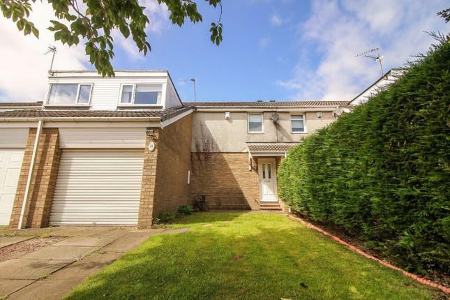 Thumbnail Terraced house to rent in Bamburgh Drive, Pegswood, Morpeth