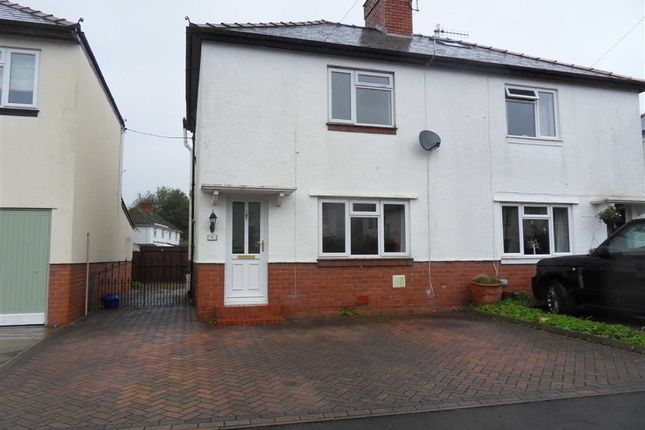 Thumbnail Semi-detached house to rent in Mill Street, Usk, Monmouthshire