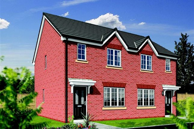 Thumbnail Semi-detached house for sale in Ribblesdale Drive, Grimsargh, Preston