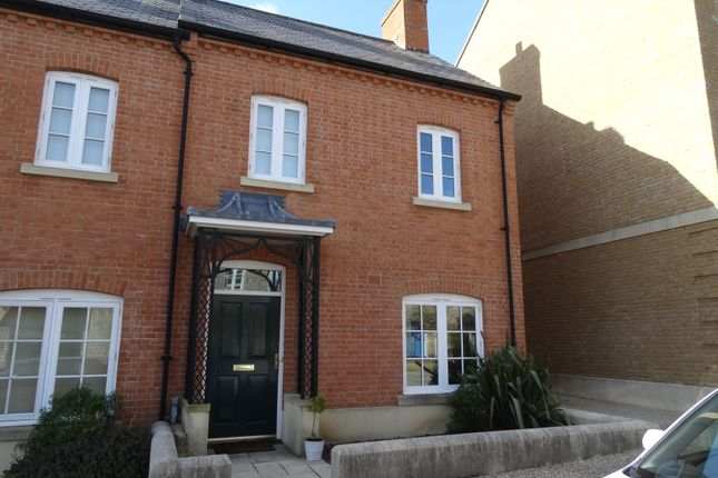 Thumbnail End terrace house to rent in Billingsmoor Lane, Poundbury, Dorchester