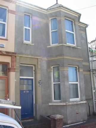 Thumbnail Town house to rent in 36 Ivydale Road, Mutley, Plymouth
