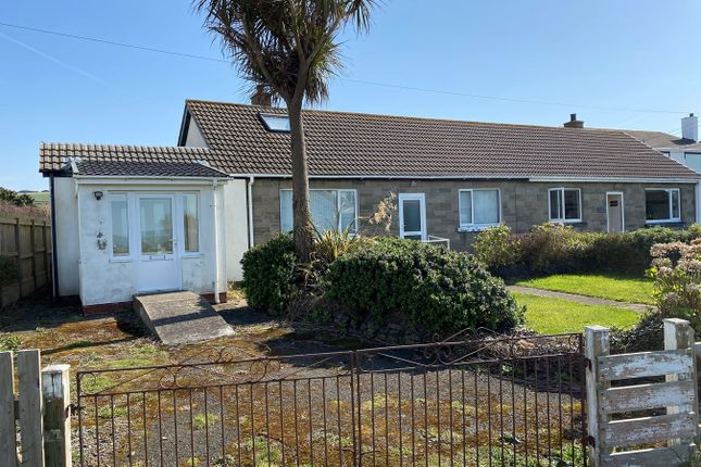 Thumbnail Bungalow for sale in Llansantffraed, Llanon