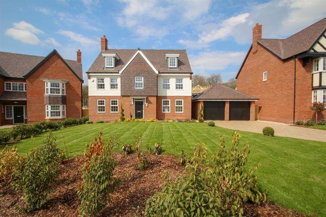 Thumbnail Detached house for sale in Josiah Drive, Barlaston, Stoke-On-Trent