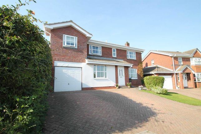 4 bed detached house for sale in Trevelyan Place, Crook