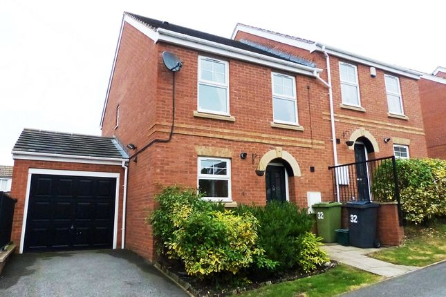 Thumbnail Semi-detached house for sale in Redberry Avenue, Heckmondwike, West Yorkshire.