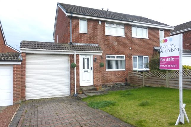 Thumbnail Semi-detached house for sale in Alderwood Close, Hartlepool