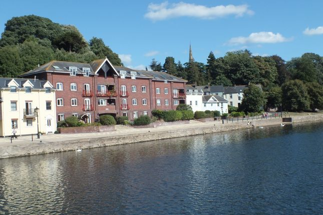 Thumbnail Flat to rent in Clipper Quay, The Quay, Exeter, Devon