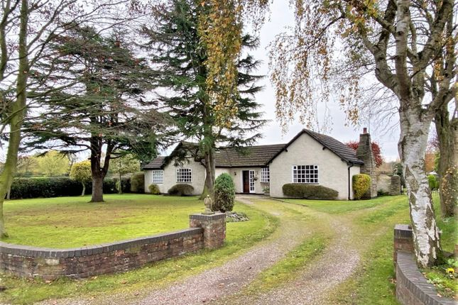 3 bed detached bungalow for sale in Mobberley Road, Wilmslow SK9