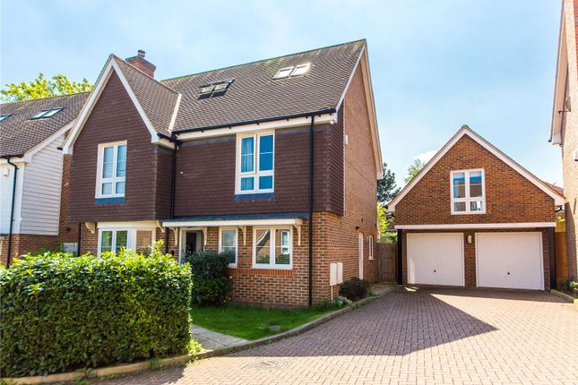 Thumbnail Detached house for sale in Lillymonte Drive, Rochester, Kent