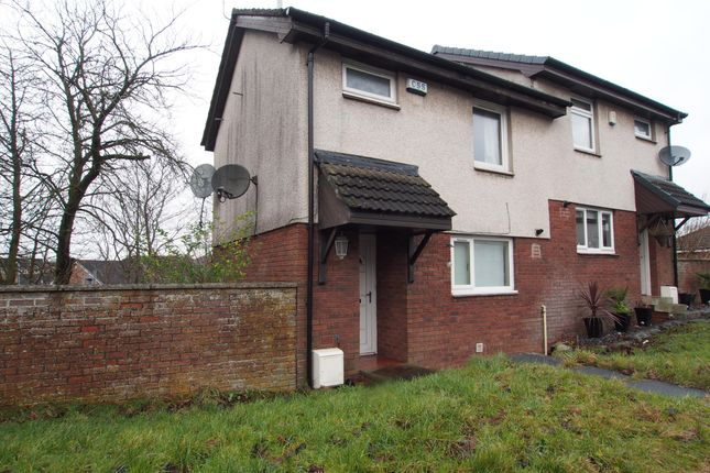 Thumbnail Semi-detached house to rent in Saughs Drive, Glendale, Glasgow