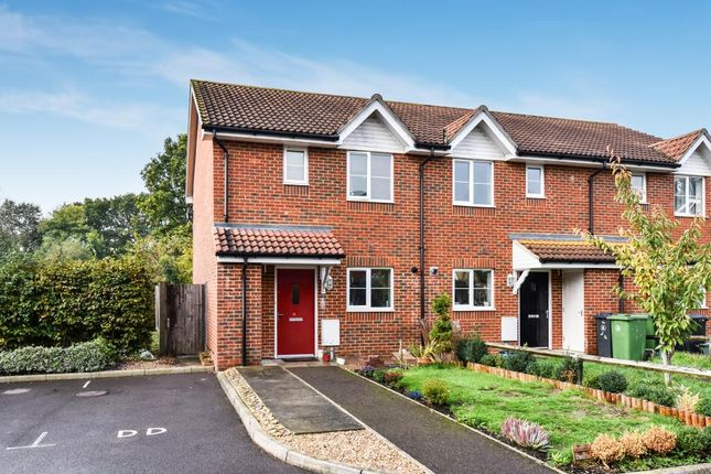 Thumbnail End terrace house for sale in Acorn Avenue, Frimley Green GU16,