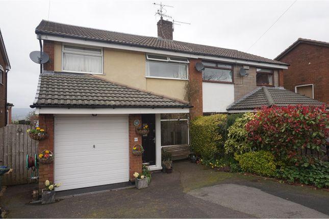 Thumbnail Semi-detached house for sale in Moorland Road, Langho, Blackburn