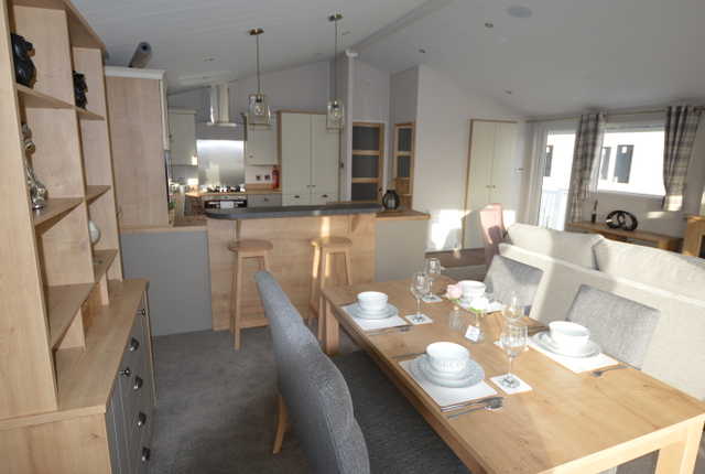 This Spacious Holiday Home Features A Stunning Lounge Area With All The Home Comforts You Could Wish For