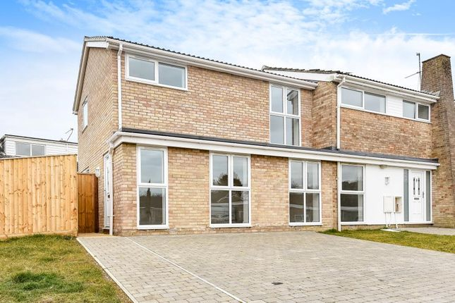 Thumbnail Semi-detached house for sale in Cumnor Hill, Oxford