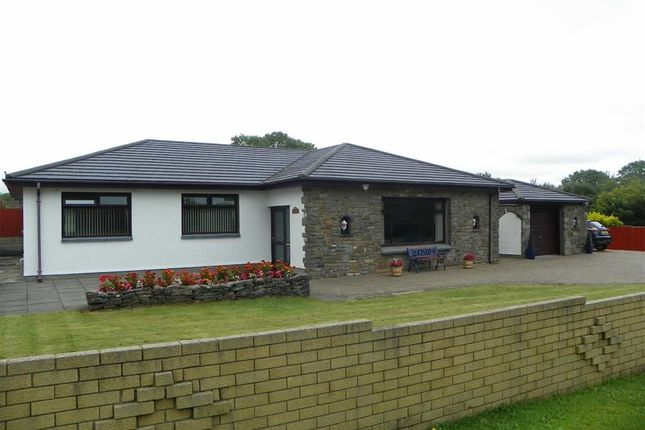 Thumbnail Detached bungalow for sale in Mwrwg Road, Llangennech, Llanelli