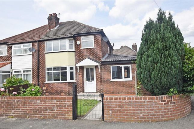 Thumbnail Semi-detached house for sale in Tanfield Road, East Didsbury, Manchester