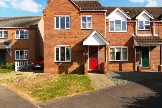 Thumbnail Semi-detached house to rent in Akita Close, Spalding
