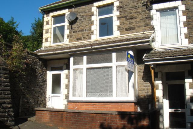 Thumbnail End terrace house to rent in Hilda Street, Treforest, Pontypridd
