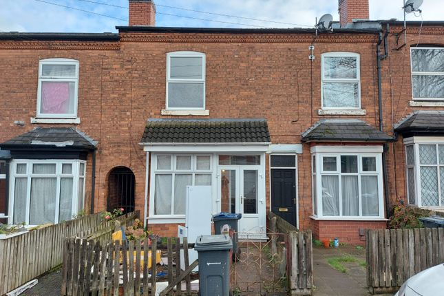 2 bed terraced house to rent in Stamford Grove, Handsworth, Birmingham B20