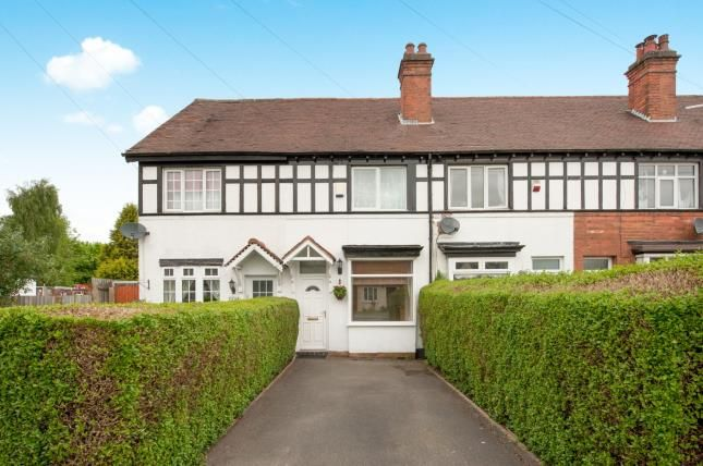 2 bed terraced house for sale in Tower Road, Sutton Coldfield, West Midlands