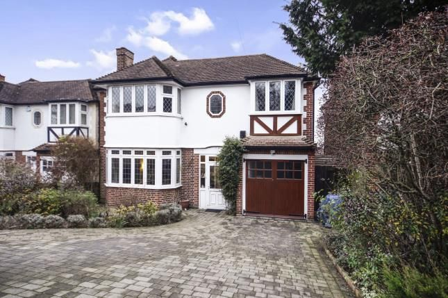 Thumbnail Detached house for sale in Croft Road, Sutton, Surrey, Greater London