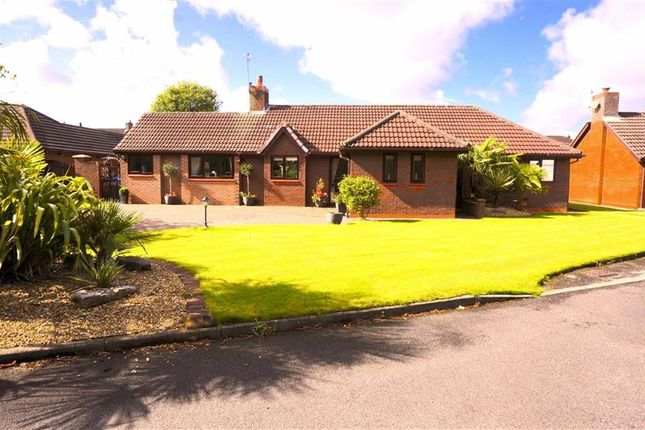Thumbnail Detached bungalow for sale in Meadow Close, Leigh