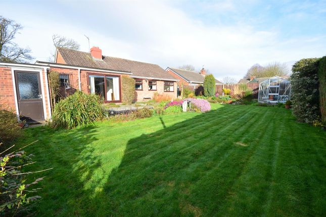 Thumbnail Bungalow for sale in Merrington Road, Bomere Heath, Shrewsbury