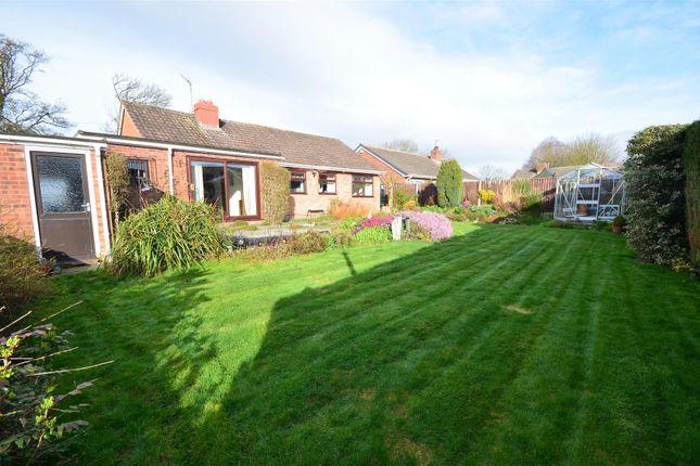 Thumbnail Bungalow for sale in Merrington Road, Bomere Heath, Shrewsbury