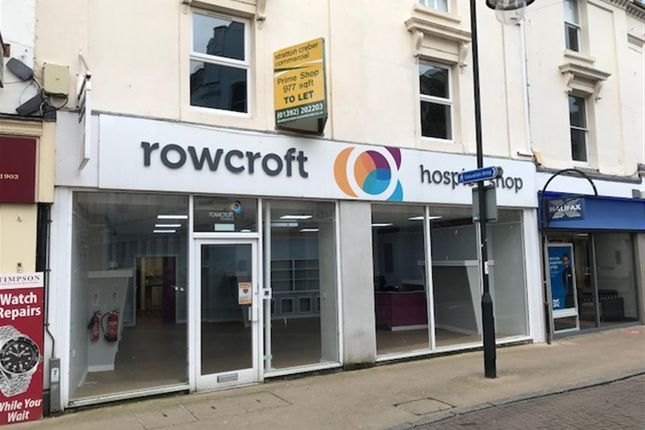 Thumbnail Retail premises to let in Courtenay Street, Newton Abbot