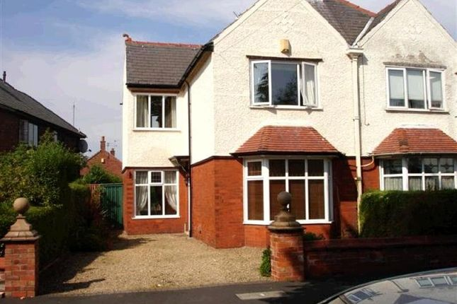 Thumbnail Semi-detached house to rent in Manor Avenue, Fulwood, Preston