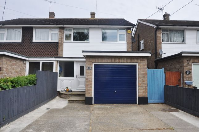 Thumbnail Semi-detached house for sale in Linden Road, Benfleet