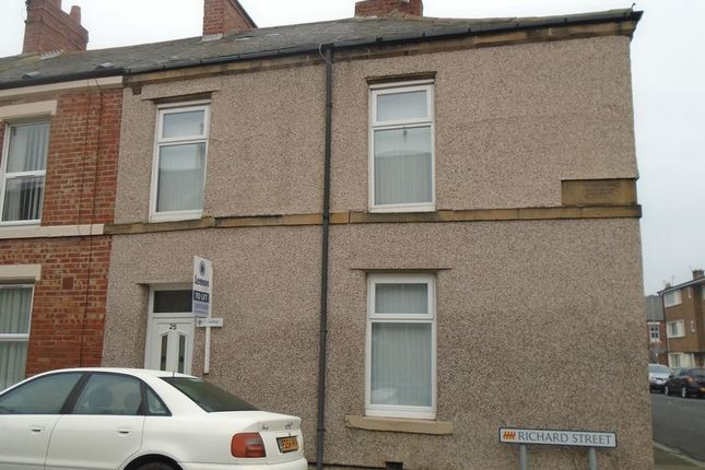 Thumbnail Terraced house to rent in Richard Street, Blyth