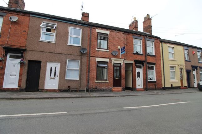Thumbnail Terraced house for sale in Grove Street, Knutton, Newcastle-Under-Lyme