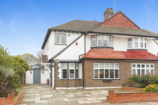 Thumbnail Semi-detached house for sale in Dulverton Road, London